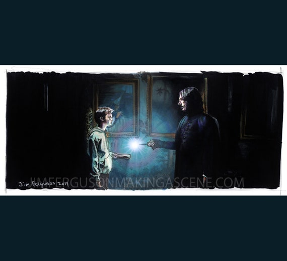 Harry Potter - Mischief Managed Print By Jim Ferguson