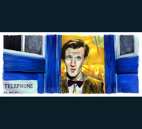 Doctor Who - The 11th Doctor  Poster Print