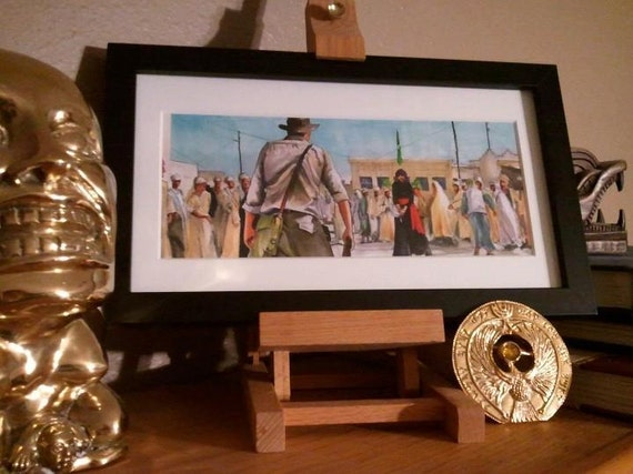 "Indiana Jones - Cairo Swordsman 5""x11"" Poster Print"