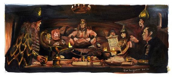 Conan the Barbarian - Crush Your Enemies Poster Print