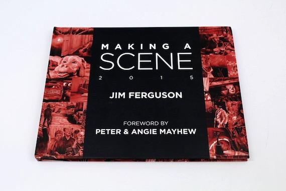 Making a Scene - Jim Ferguson 2015 Movie scene art book. By Jim Ferguson