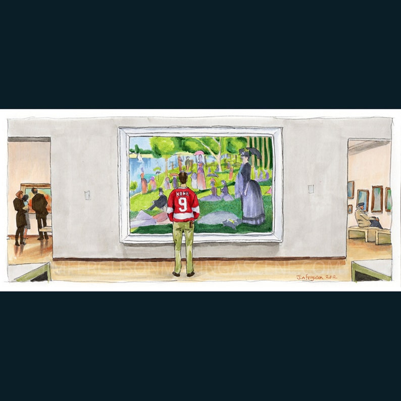 Ferris Bueller's Day Off  Sunday Afternoon Art Print image 0