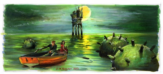 City of Lost Children - Minefield  Poster Print