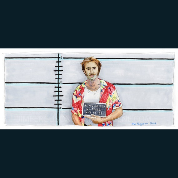 "Raising Arizona - Turn to the Right 5""x11"" Poster Print"