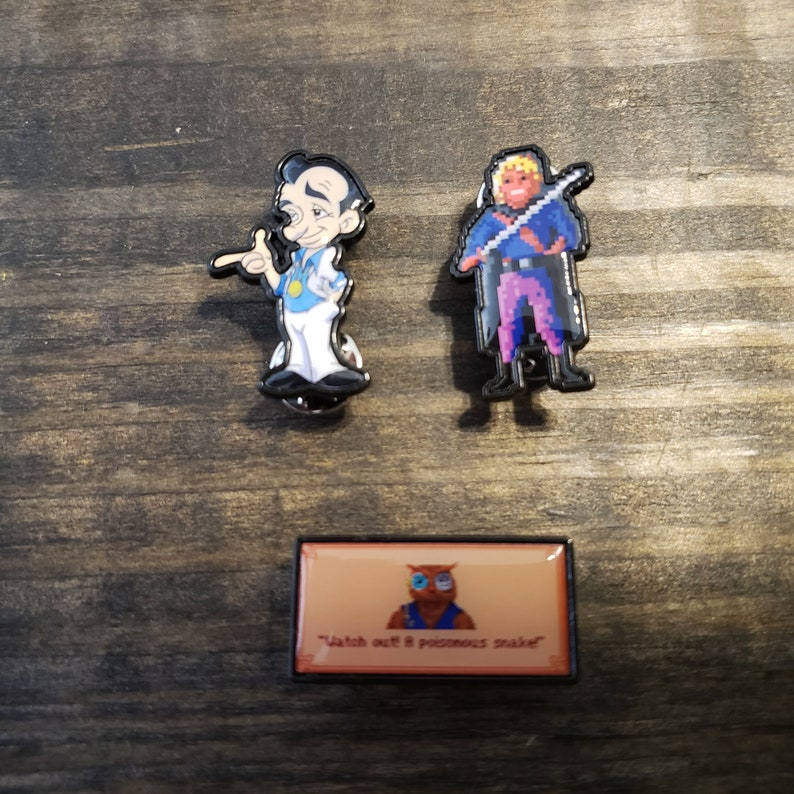 Set of 3 Sierra Game enamel pins image 0