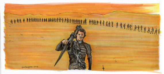 Dune - Usul Calls a Big One Poster Print