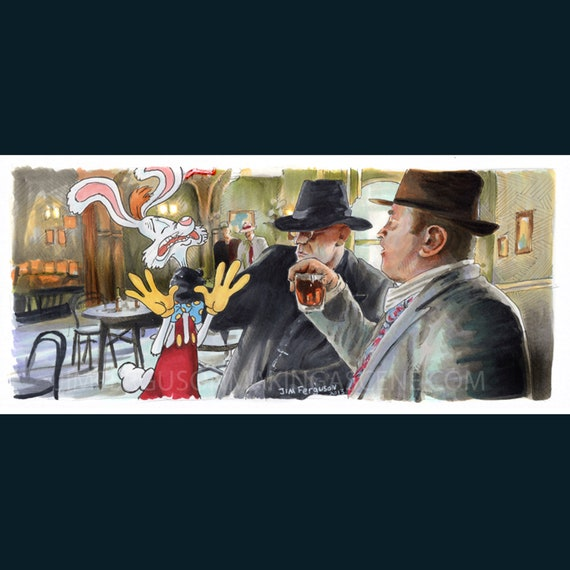 Who Framed Roger Rabbit - Happy Trails  Poster Print