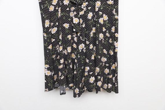 vintage 90s y2k floral jumper romper SUMMER dress… - image 2