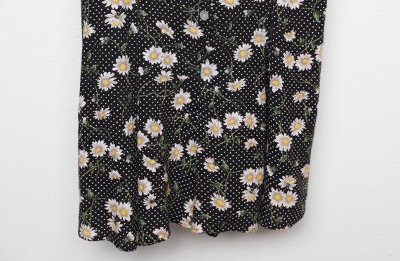 vintage 90s y2k floral jumper romper SUMMER dress… - image 6