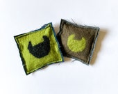 Catnip cushion cat toy, set of 2, cat accessories, cat supplies, toys for cats, cat lady stuff, kitten toys, catnip toy, cat lover gift
