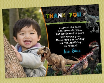 Dinosaur Thank You Etsy