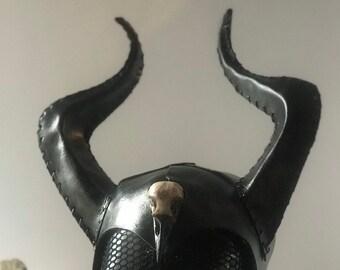 Horned Headdress (Maleficent Inspired).