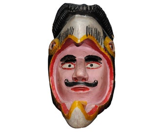 Animal / Conquistador Mask from Jalisco Mexico