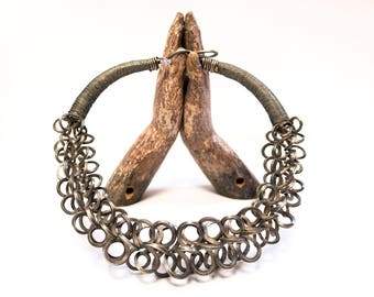 Traditional Tribal Necklace from the Miao people, Hunan, China, 1950s
