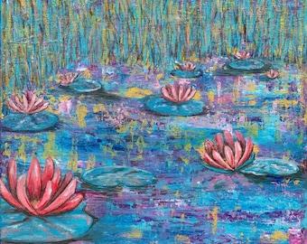 Water Lilies Giclée Print