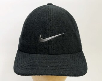 820cac8207078 vintage nike white tag thermafit hat adult OSFA 90s