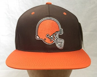 vintage cleveland browns sports specialties snapback hat deadstock NWT  adult OSFA 90s 9b3a8416cab