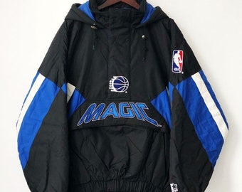 a0e04e68fd4 vintage orlando magic starter jacket coat parka mens size XL deadstock NWT  90s