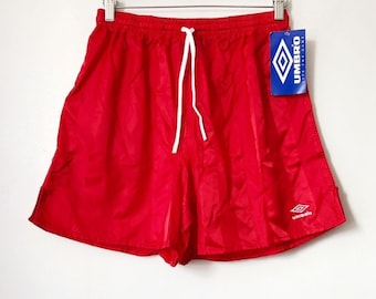 304c69ea1 vintage umbro shorts mens size large deadstock NWT 90s made in USA
