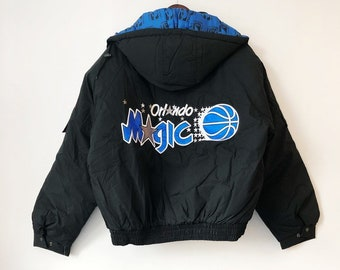 e869f01ec0d vintage orlando magic pro player jacket coat mens size XL deadstock NWT 90s