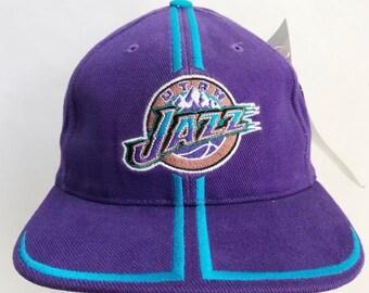 70de1ec69719ae vintage utah jazz sports specialties cap hat deadstock NWT adult OSFA 1998
