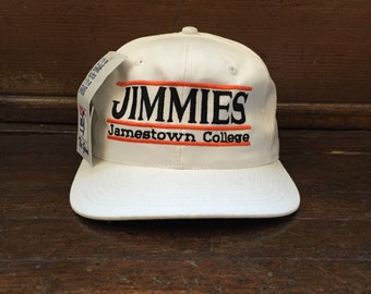 aa37d99744a vintage jamestown college snapback the game adult OSFA