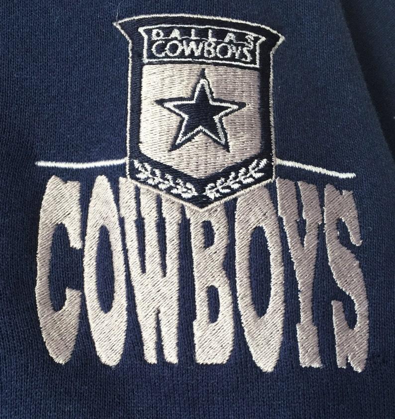 c8aa72edf Vintage dallas cowboys turtleneck crewneck the game mens size
