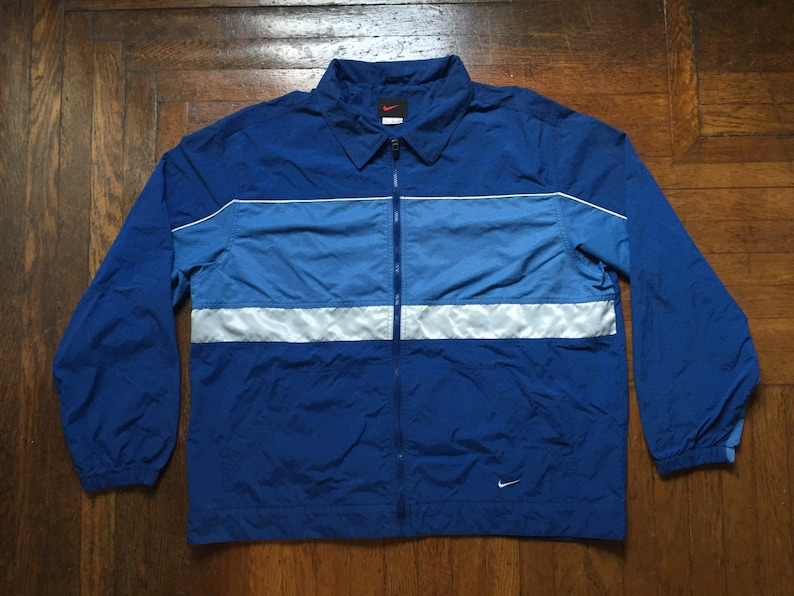 539eed2f47 Vintage nike black tag windbreaker men s size XL