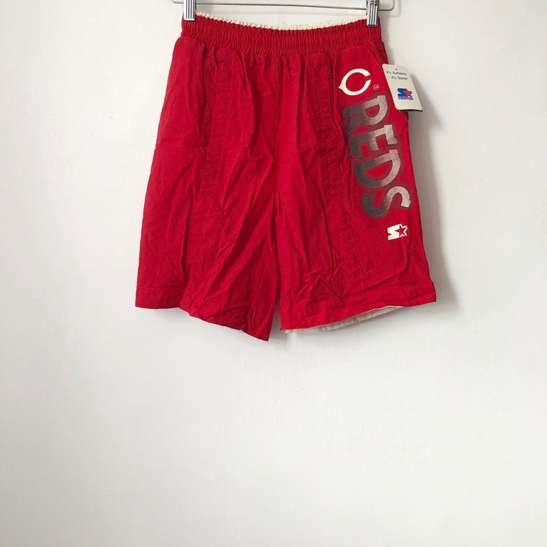 e123bd8a30 Vintage cincinnati reds starter swim trunks mens size medium | Etsy