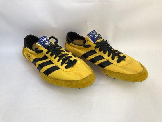 vintage adidas apollo track spikes shoes mens size 7.5 deadstock NIB 70s NOS