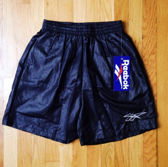 b9b04b841a408 vintage reebok swim trunks textured mens size medium deadstock NWT 1993