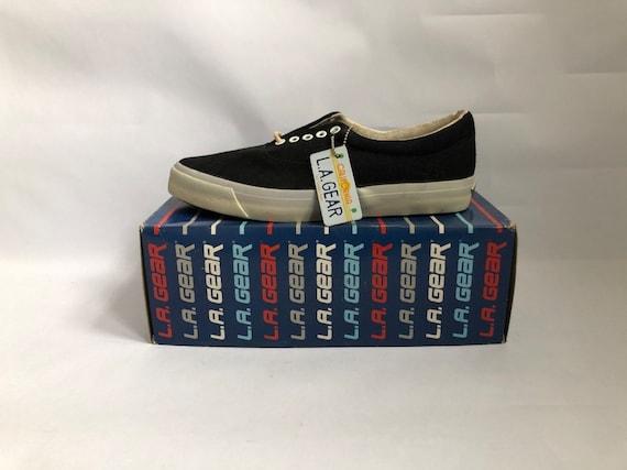 vintage LA gear beachcomber II canvas shoes sneake