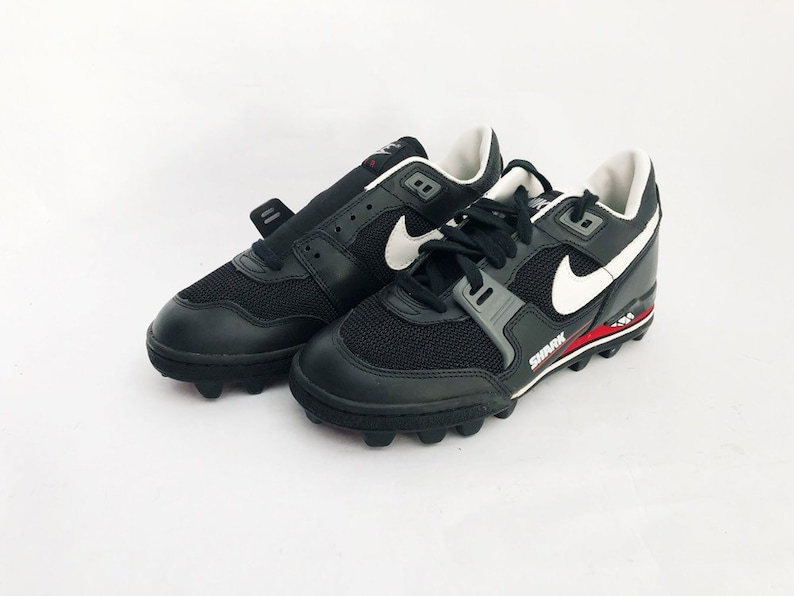 online retailer 65ebf 46189 Vintage nike air boss shark football cleats shoes mens size 8   Etsy