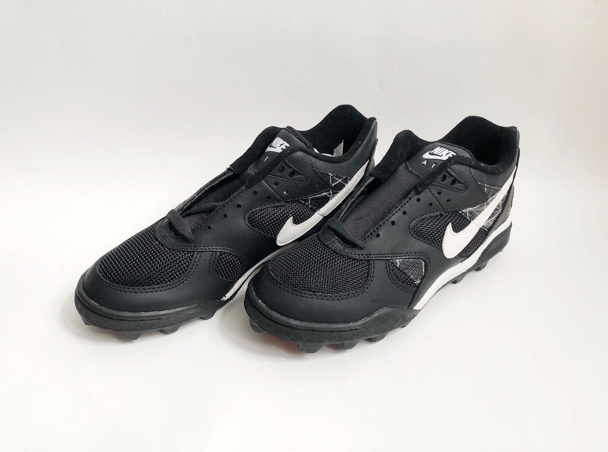 vintage nike air boss shark football shoes mens mens shoes size 9 deadstock NIB 1993 96bc62