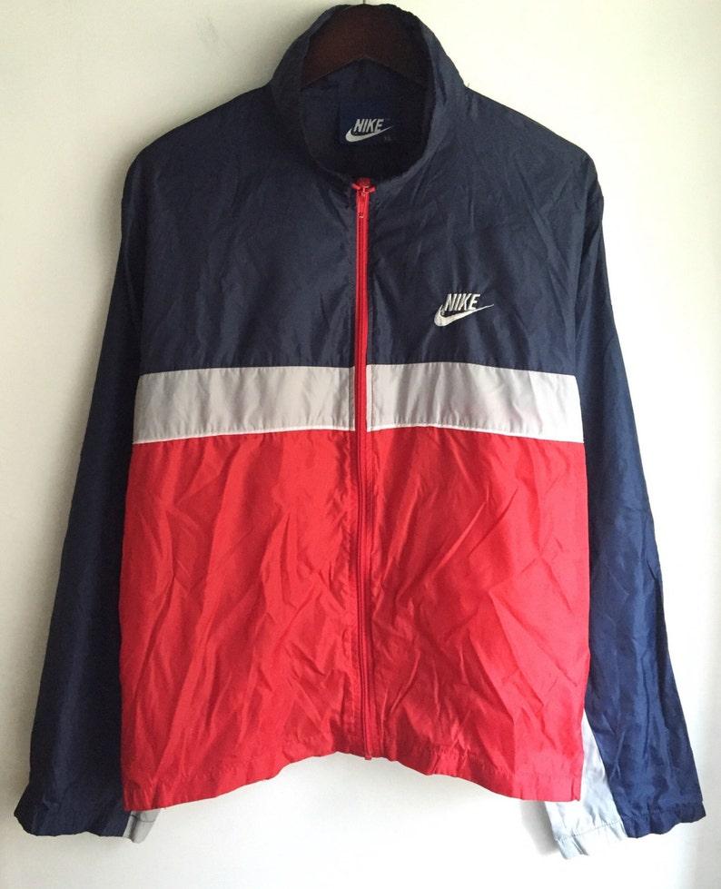 7bec228d78 Vintage nike blue tag windbreaker jacket men s size XL