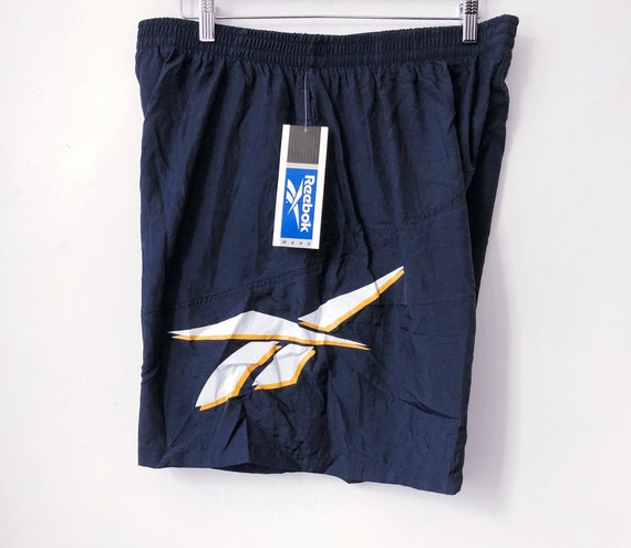 vintage reebok swim trunks mens size XL deadstock NIP 1996