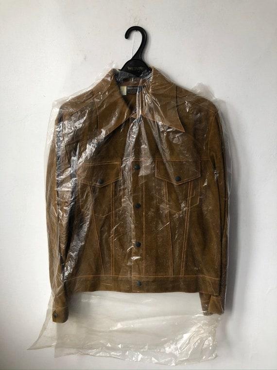 vintage vanderbilt cowhide suede leather jacket me