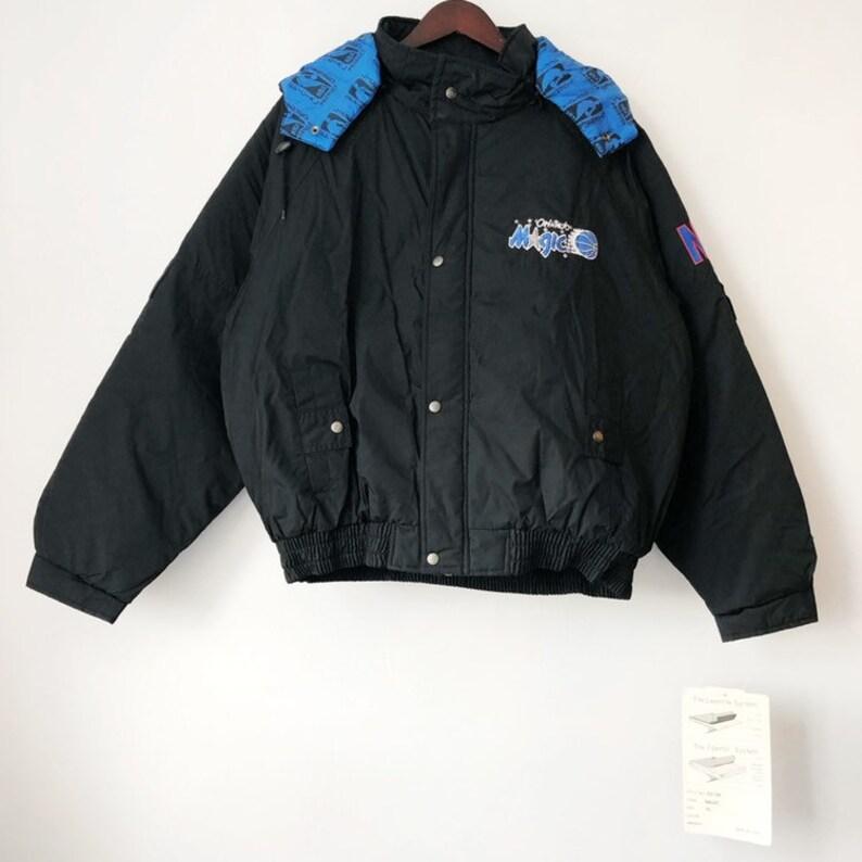 vintage orlando magic pro player jacket coat mens size XL deadstock NWT 90s