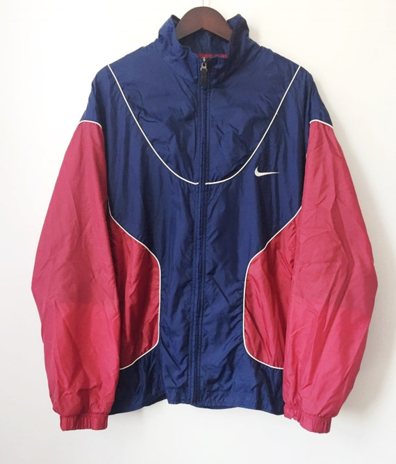 vintage nike white tag windbreaker mens size XL