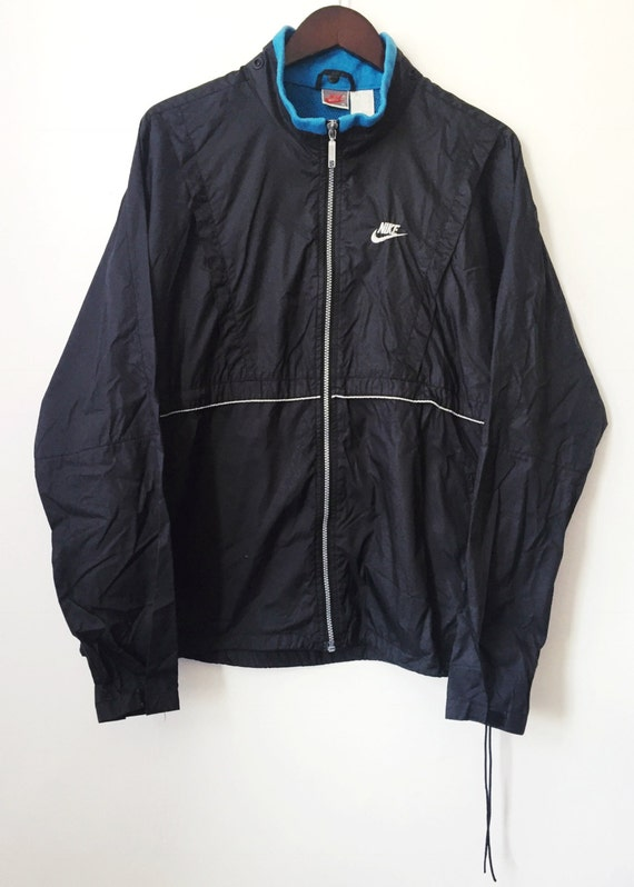 004ddee0130 vintage nike grey tag windbreaker mens size XL
