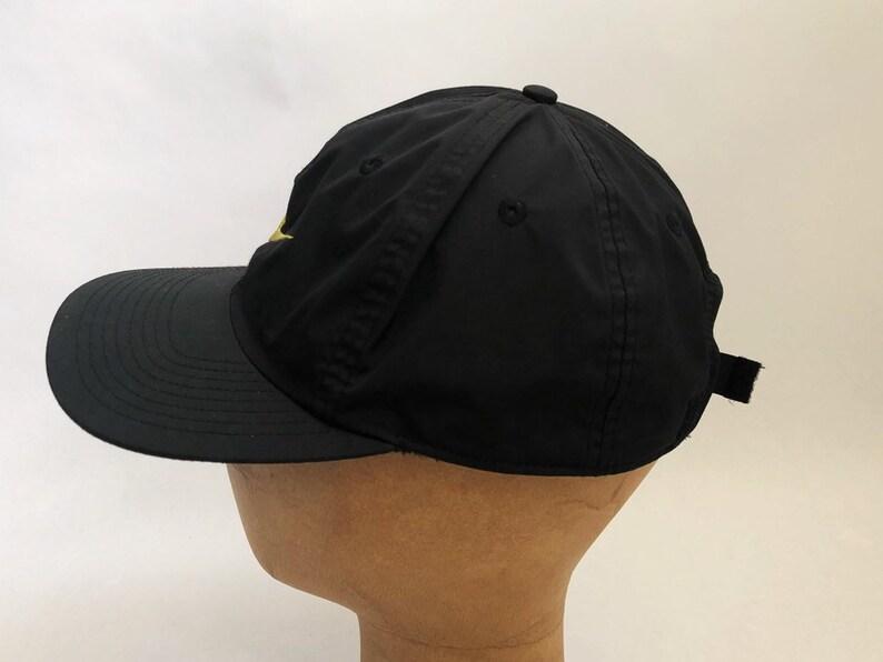243a7049a67 Vintage nike climafit nylon click back hat adult OSFA 90s