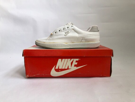 vintage nike court lite canvas sneakers tennis sho