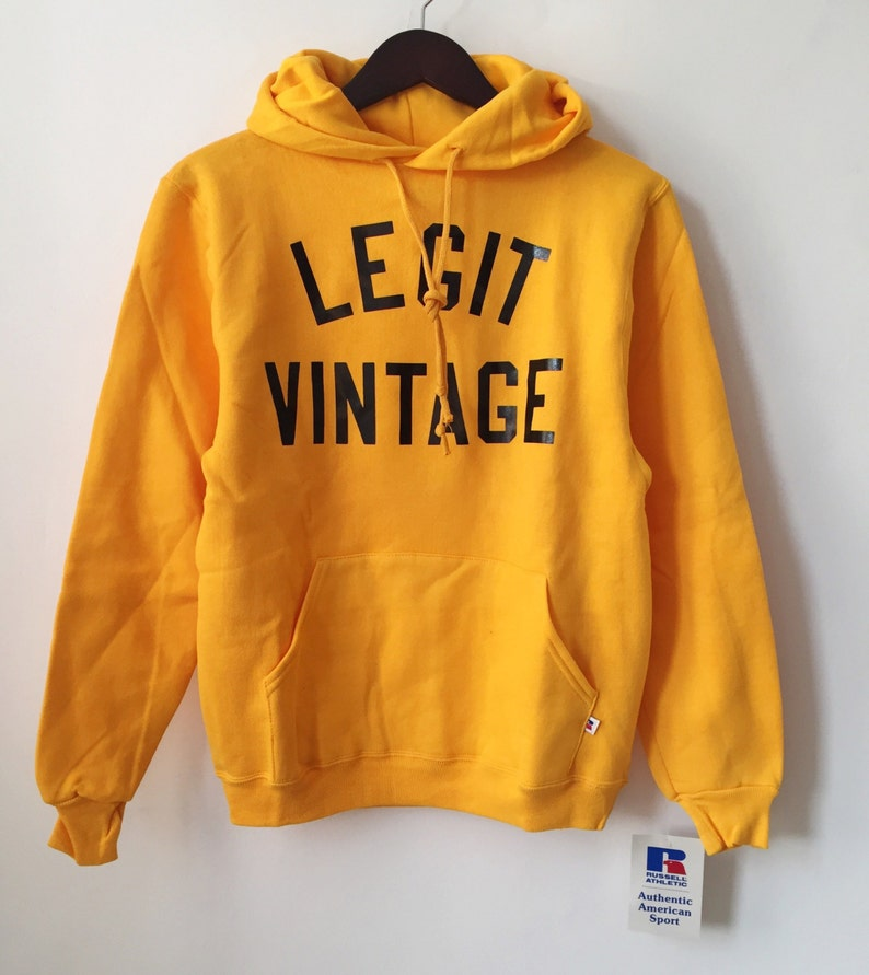 d767acdef825f Legit vintage X russell athletic hoodie mens size small