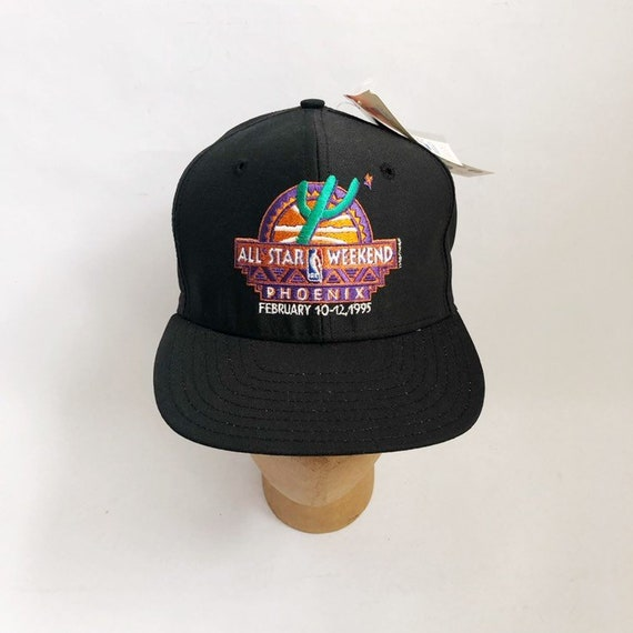 Vintage 1995 NBA all-star game snapback hat cap AJD phoenix  7874e90ef240