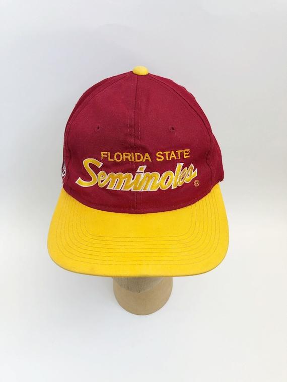 a8d245b69b6 vintage florida state seminoles sports specialties script snapback hat  adult OSFA 90s