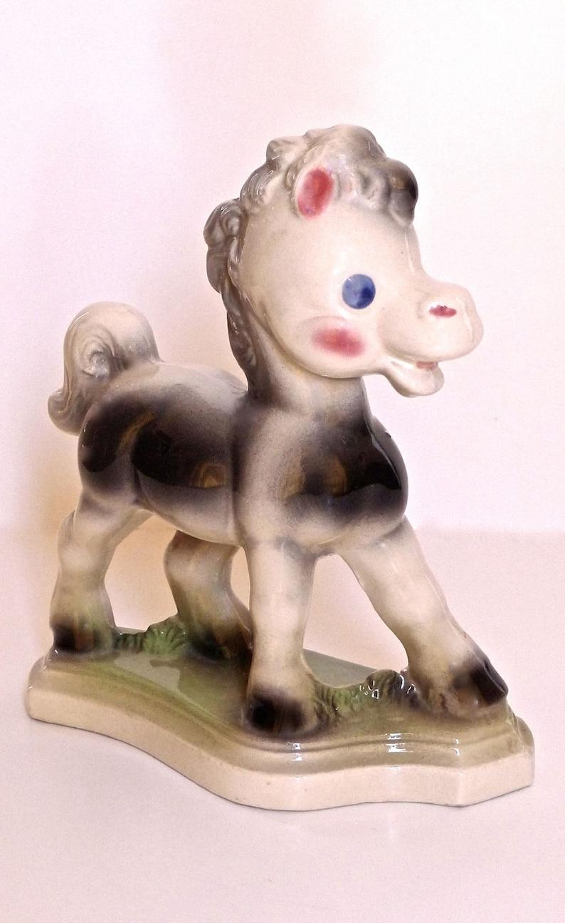 Rempel Frisky Pony Ceramic Statue Figurine Vintage