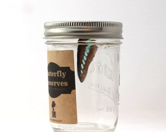 Gift Packaging - Homemade Butterfly Preserves  - Gift Jar