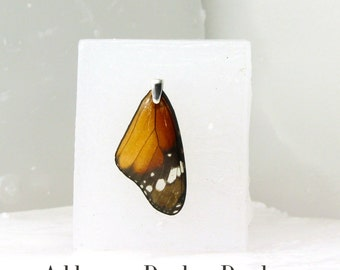 Sterling Silver Bail for Real Butterfly Wing Pendant (Additional Purchase)
