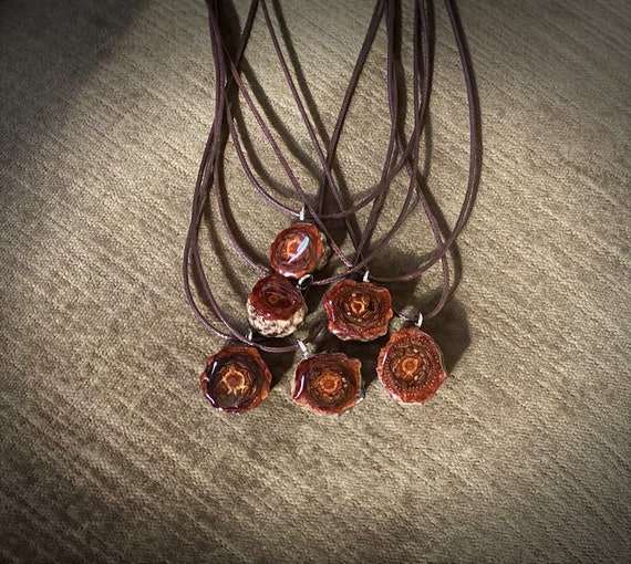 Real Jack Pine Cone Necklace