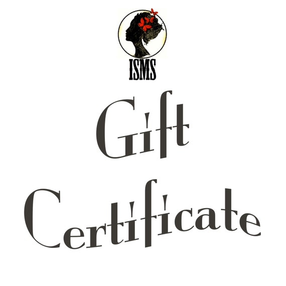 Isms Gift Certificate for Real Butterfly Conservation Art